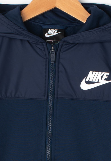 Nike Спортен екип с лого и качулка Момичета