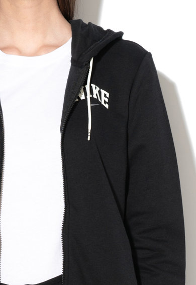 Nike Суитшърт с качулка и лого Жени
