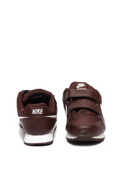 Nike Pantofi sport de piele cu insertii de material textil MD Runner 2 Fete