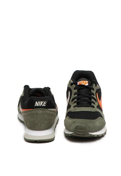 Nike Pantofi sport cu insertii de piele intoarsa Runner 2ES1 Barbati