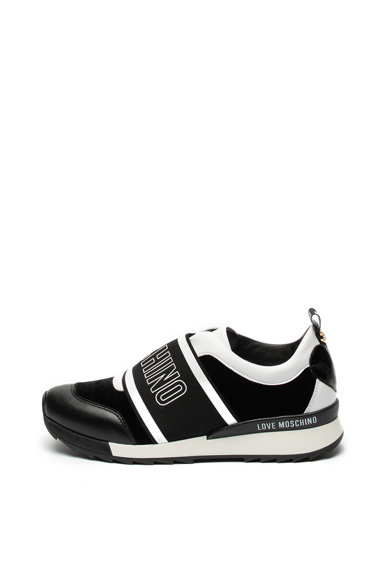 Love Moschino Pantofi sport slip-on cu logo Femei