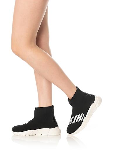 Love Moschino Bebújós logós sneaker női