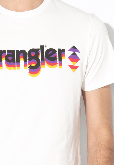 Wrangler Logómintás póló férfi