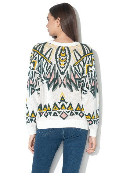 Wrangler Mintás laza fazonú pulóver női