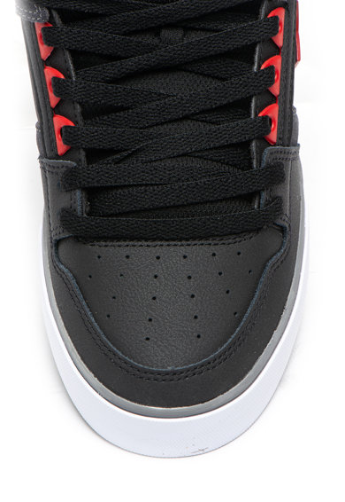 DC Pantofi sport mid-high din piele peliculizata cu garnituri de piele intoarsa Pure Barbati