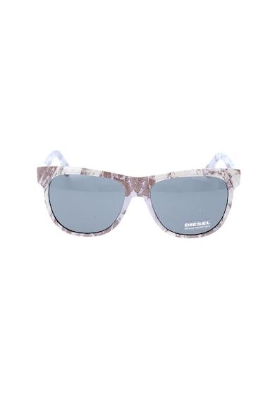 Diesel Слънчеви очила с абстрактен десен Жени