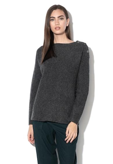 Esprit Pulover din amestec de lana cu aspect striat Femei
