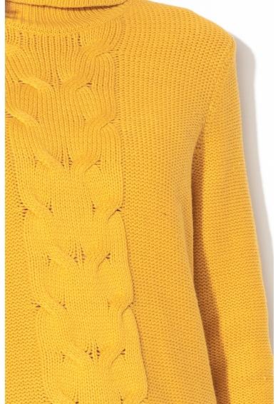 EDC by Esprit Pulover cu model torsade si guler inalt Femei