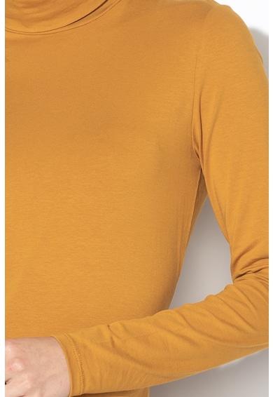 EDC by Esprit Bluza din jerseu de bumbac, cu guler inalt Femei