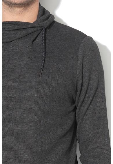 Esprit Bluza din bumbac organic cu guler inalt Barbati