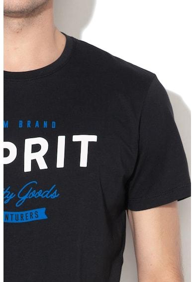 Esprit Tricou regular fit de bumbac cu logo Barbati