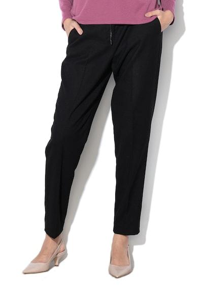 Esprit Pantaloni crop cu snur pentru ajustare Femei