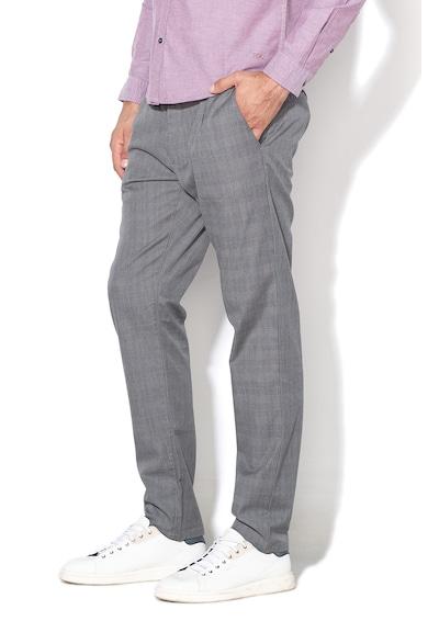 Esprit Pantaloni conici, cu carouri Barbati