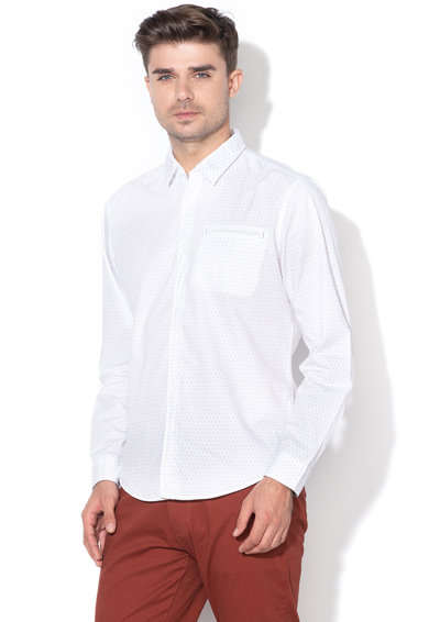 EDC by Esprit Camasa slim fit cu model geometric Barbati