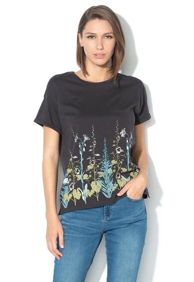 EDC by Esprit Tricou lejer cu imprimeu floral Femei