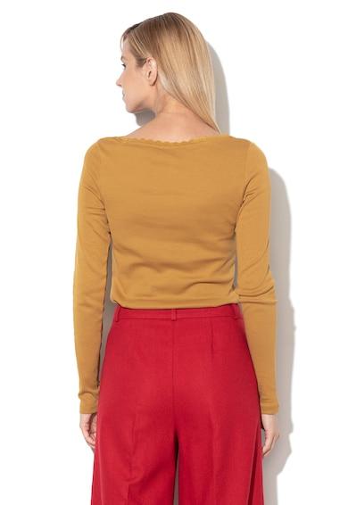 EDC by Esprit Bluza cu garnitura de dantela Femei