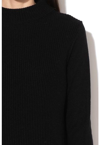 Esprit Rochie tip pulover, din amestec de lana, cu striatii Femei