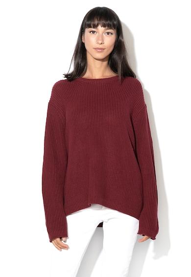 Esprit Пуловер с овално деколте и рипсени детайли Жени