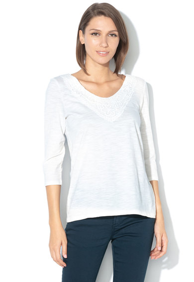 Esprit Bluza cu detalii crosetate Femei