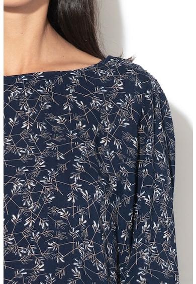 Esprit Laza fazonú mintás felső lekerekített alsó szegéllyel női