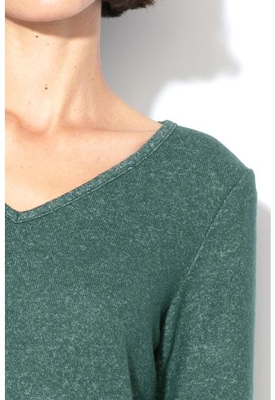 Esprit Pulover din tricot fin cu decolteu in V Femei