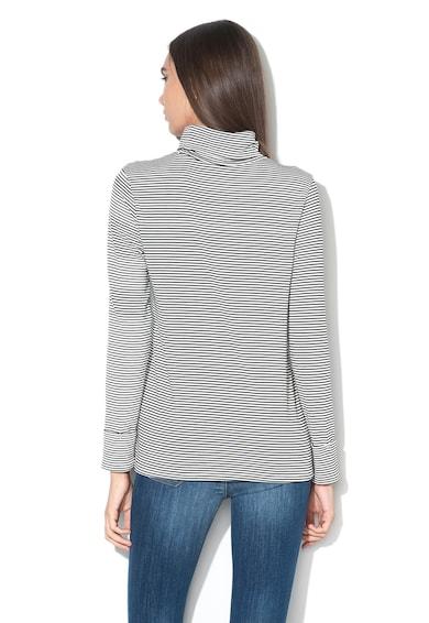 Esprit Bluza cu model in dungi si guler inalt Femei