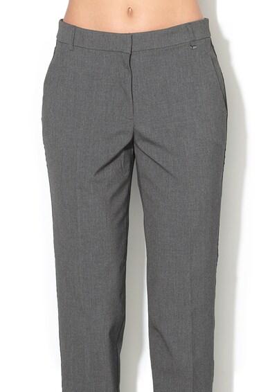 Esprit Pantaloni conici cu pensa si vipusca laterala Femei