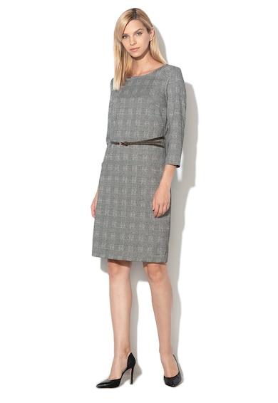 Esprit Карирана рокля с колан Жени