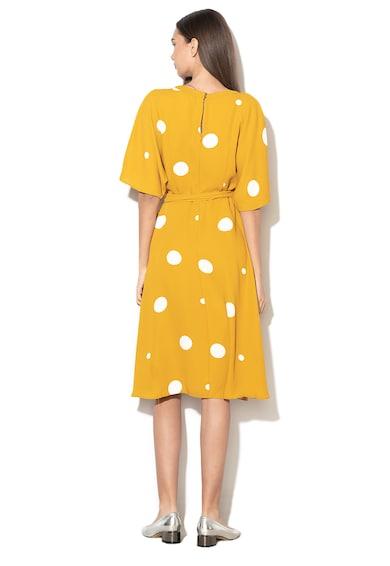 Esprit Pöttyös átlapolós ruha női