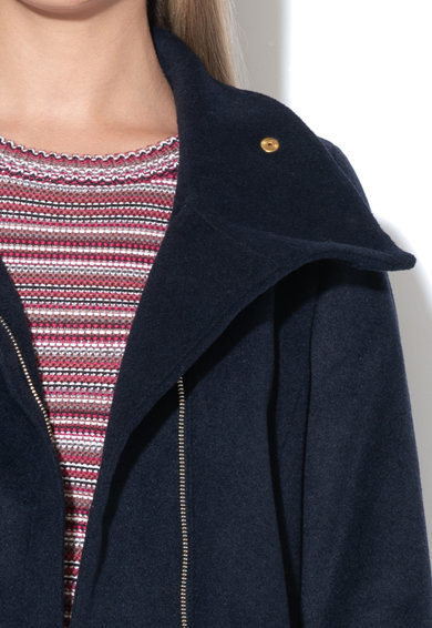 Esprit Palton din amestec de lana, cu cordon in talie Femei