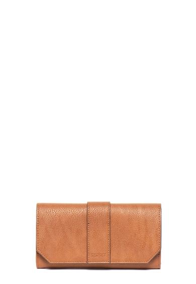 Esprit Portofel de piele ecologica, cu logo stantat Femei