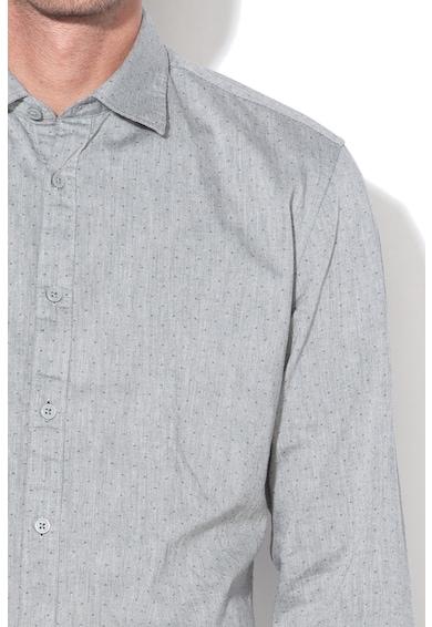 Esprit Camasa slim fit cu model cu buline Barbati