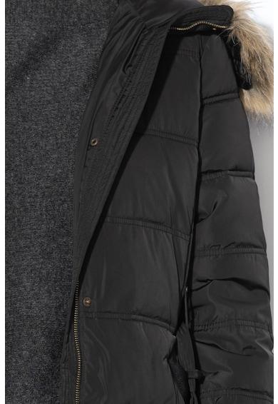 Esprit Дълго подплатени яке с капитониран ефект Жени