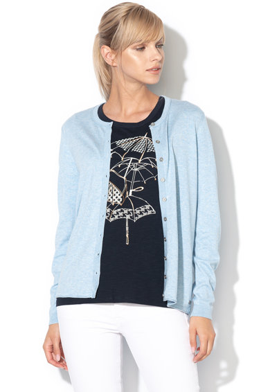 EDC by Esprit Cardigan din tricot fin cu nasturi Femei
