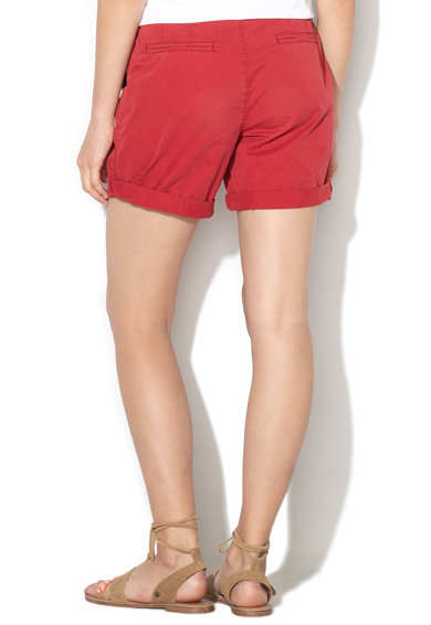 Esprit Pantaloni chino scurti cu o curea impletita Femei