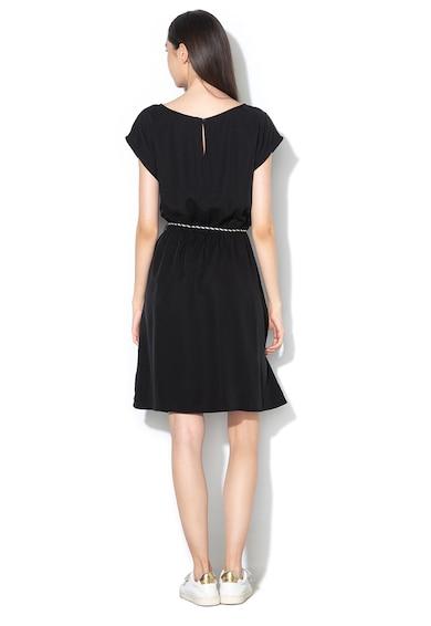 Esprit Разкроена рокля от лиосел с връзка Жени