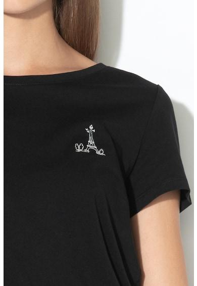 Esprit Tricou din bumbac organic cu detaliu brodat Femei