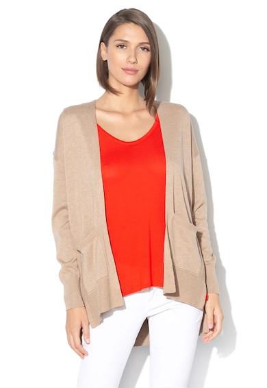Esprit Cardigan tricotat fin, din amestec de bumbac organic Femei