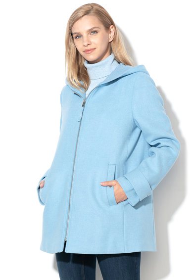 Esprit Палто с качулка и вълна Жени