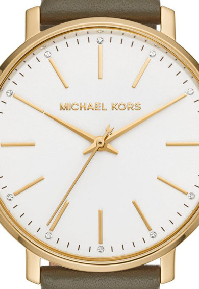 Michael Kors Kvarc karóra bőrszíjjal női