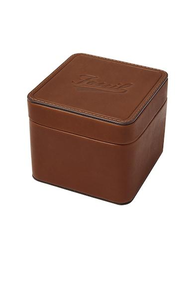 Fossil Кожена кутия за часовник с лого Жени