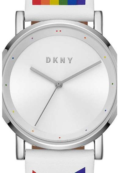 DKNY Ceas analog cu o curea cu model logo Femei