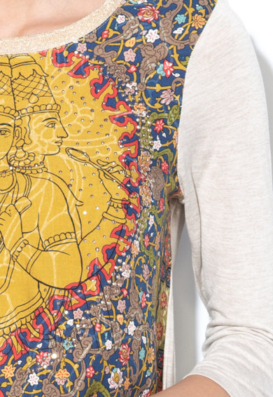 DESIGUAL Блуза Rahjan с ориенталска шарка Жени