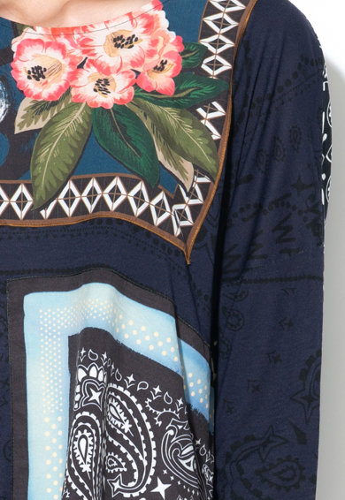 DESIGUAL Блуза Audrie с разнороден десен Жени