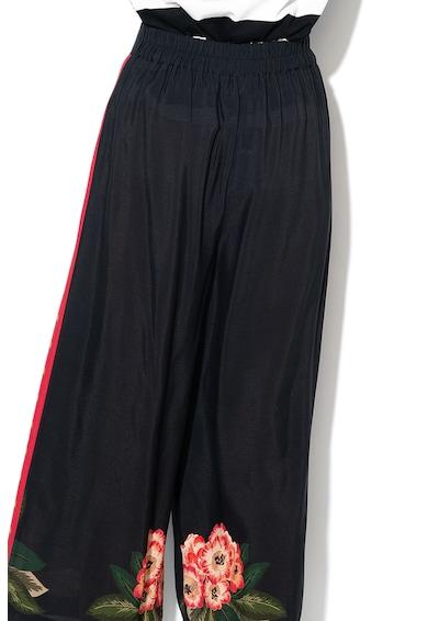 DESIGUAL Pantaloni culotte cu motive florale Amelie Femei