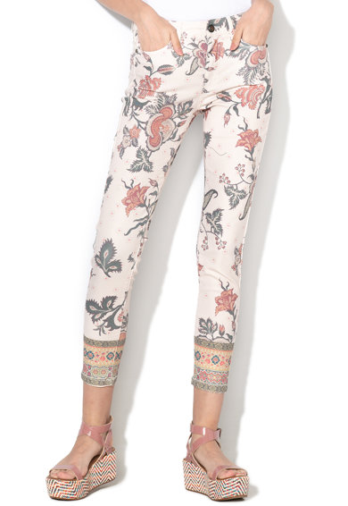 DESIGUAL Панталон Speke с флорален десен Жени