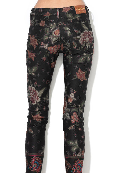 DESIGUAL Speke virágmintás nadrág női