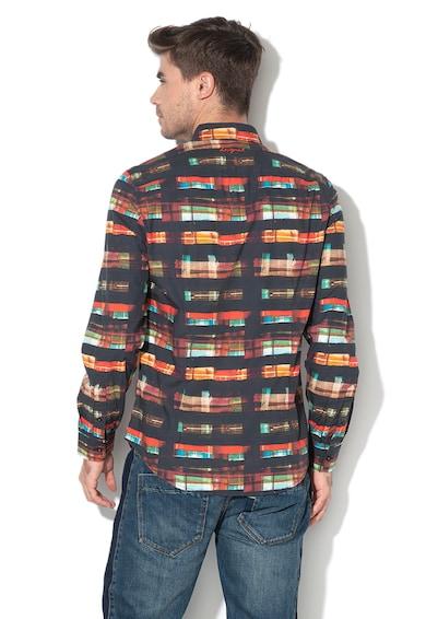 DESIGUAL Camasa slim fit cu imprimeu grafic Kevin Barbati