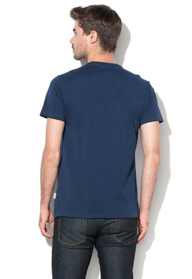 DESIGUAL Elio póló farmerrátéttel férfi