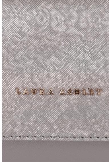 Laura Ashley Geanta plic de piele saffiano ecologica, cu bareta de lant Femei